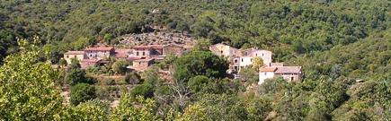 Het dorpje Cantignergues